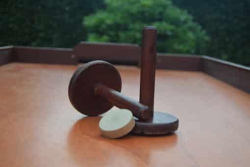 Tafelhockey - Oud Holland spel - onderdelen