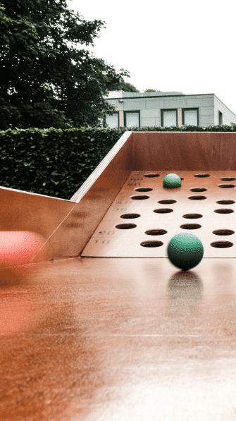 Ballenrolspel | oud Hollands spelletje
